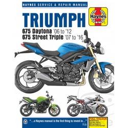 Repair Manual TRIUMPH 675 Daytona 06-12 675 Street Triple 07-16