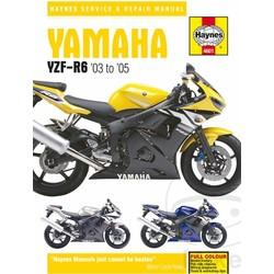 Repair Manual YAMAHA YZF600R R6 03-05