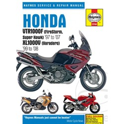 Repair Manual HONDA VTR1000F Firestorm Super Hark 07-07 XL1000V Varadero 99-08
