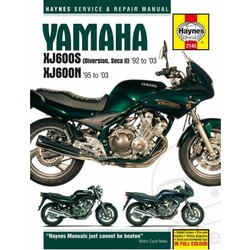 Repair Manual YAMAHA XJ600S Diversion Seca 92-03 XJ600N 95-03