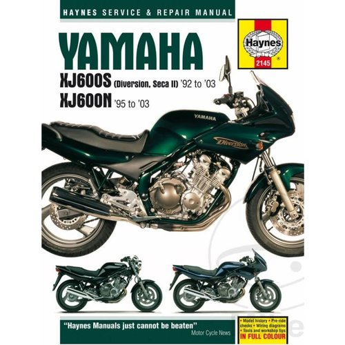 Yamaha XJ600 S Diversion 92 to 03 Speedo Cable