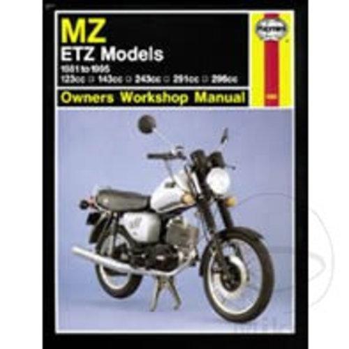 Haynes Werkplaatshandboek MZ / ETZ
