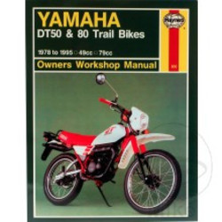 Repair Manual YAMAHA DT50 DT80 1978 - 1995