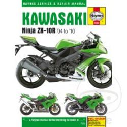 Werkplaatshandboek KAWASAKI NINJA ZX-10R (04-10)
