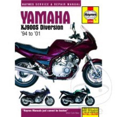 Haynes Reparatur Anleitung YAMAHA XJ900S DIVERSION 1994 - 2001