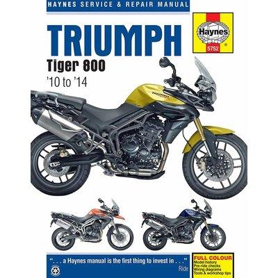 Haynes Manuel de Réparation TRIUMPH TIGER 800 (2010 - 2014)