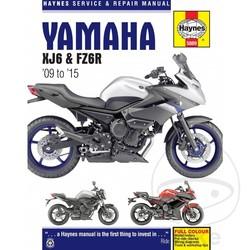 Werkplaatshandboek YAMAHA XJ6 & FZ6R (09-15)