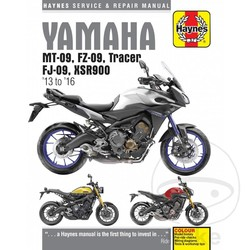 Repair Manual MT-09, FZ-09, TRACER, FJ-09, XSR900 13-16