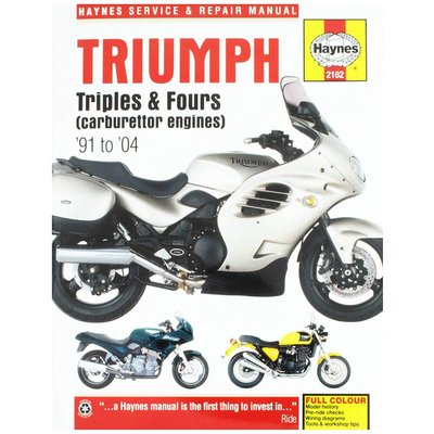 Haynes Reparatur Anleitung TRIUMPH TRIPLES AND FOURS