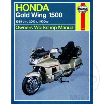 Haynes Manuel de Réparation HONDA GOLD WING 1500 (USA) 1988 - 2000