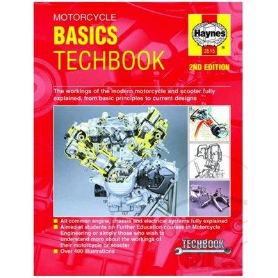 Haynes Manuel de réparation MOTORCYCLE BASICS TECHBOOK (2ND EDITION)