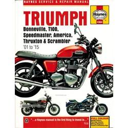 Werkplaatshandboek TRIUMPH BONNEVILLE