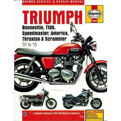 Haynes Reparatur Anleitung TRIUMPH BONNEVILLE