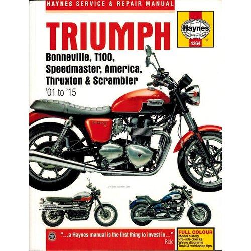 Haynes Werkplaatshandboek TRIUMPH BONNEVILLE
