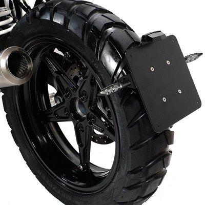 UNIT Garage BMW R NineT Plate Holder Black - Low