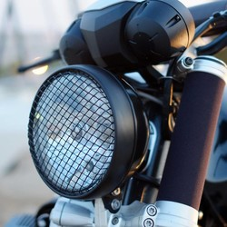 BMW R NineT Headlight Protection Grid Black (discontinued)