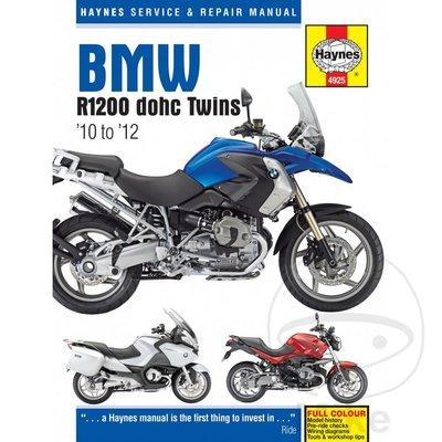 Haynes Repair Manual BMW R1200 DOHC (10-12)