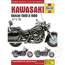 Reparatur Anleitung KAWASAKI VULCAN 1500/1600 (87-08)