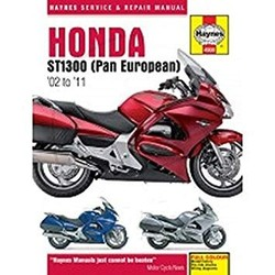 Repair Manual HONDA ST1300 PAN EUROPEAN (02-11)