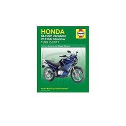 Manuel de réparation HONDA XL125V & VT125 SHADOW (00-11)