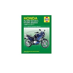 Repair Manual HONDA XL125V & VT125 SHADOW (00-11)