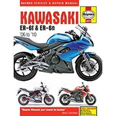 Haynes Manuel de réparation (SB) KAWASAKI ER-6 (05-09)