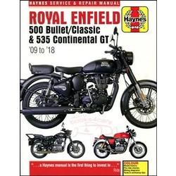 Manuel de réparation ROYAL ENFIELD 500/535 09-18