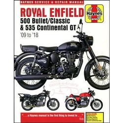 Repair Manual ROYAL ENFIELD 500/535 09-18