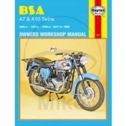 Werkplaatshandboek BSA A7 & A10 TWINS