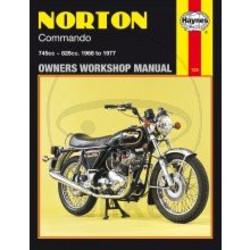Werkplaatshandboek NORTON COMMANDO 1968 - 1977
