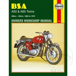 Werkplaatshandboek BSA A50 & A65 TWINS 1962 - 1973
