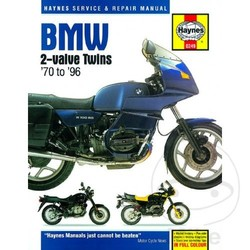 Repair Manual (SB) BMW 2- VALVE TWINS 70-96