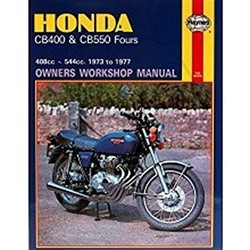 Repair Manual HONDA CB400 & CB550 FOURS