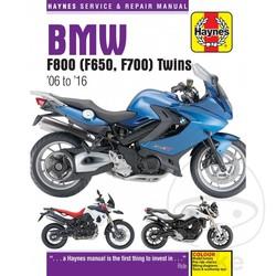 Werkplaatshandboek BMW F800 (F650/700)TWINS (06-10)