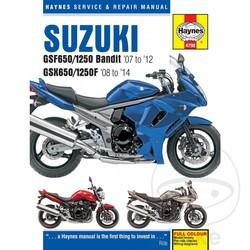 Werkplaatshandboek SUZUKI GSF650/1250 BANDITS (07-14