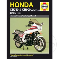 Repair Manual HONDA CB750 & CB900 DOHC FOURS 1978 - 1984