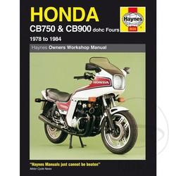Werkplaatshandboek HONDA CB750 & CB900 DOHC FOURS 1978 - 1984