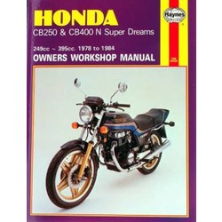 Repair Manual HONDA CB250 & CB400N SUPER DREAMS 1978 - 1984