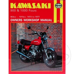Werkplaatshandboek KAWASAKI 900 & 1000 FOURS 1973 - 1977