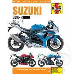 Werkplaatshandboek GSXR1000 2009-2016
