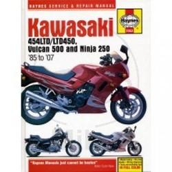 Werkplaatshandboek KAWASAKI 454 LTD LTD 450 VULCUN 500 & NINJA 250