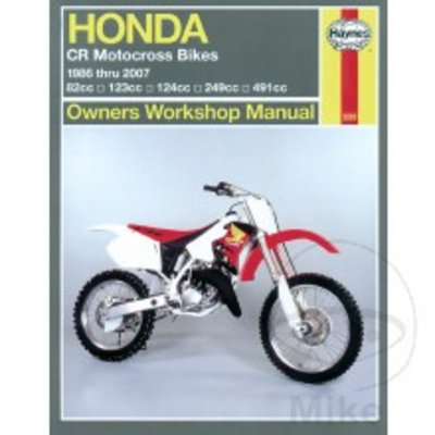 Haynes Manuel de Réparation HONDA CR MOTOCROSS BIKES (86-07)