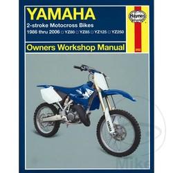 Werkplaatshandboek YAMAHA YZ80 85 125 250 86 - 06
