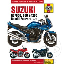 Repair Manual SUZUKI GSF600 650 1200 BANDIT 95-06
