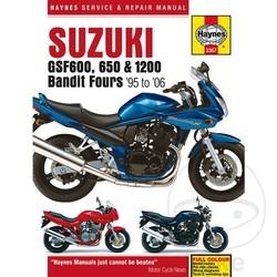 Werkplaatshandboek SUZUKI GSF600 650 1200 BANDIT 95