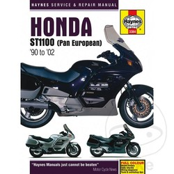 Repair Manual HONDA ST1100 PAN EUROPEAN UPDATE