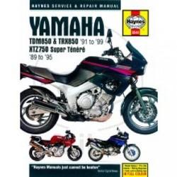 Werkplaatshandboek (SB) YAMAHA TDM850 TRX850 & XTZ7