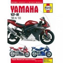 Werkplaatshandboek YAMAHA YZF-R1 1998 - 2003
