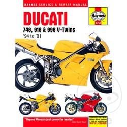 Werkplaatshandboek DUCATI 748 916 & 996 V-TWINS