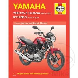Werkplaatshandboek YAMAHA YBR125 & XT125R/X (05-13)